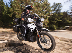 Battery-powered motorcycle deployed by Va. PD - Police News | Electric Motorcycle | Scoop.it