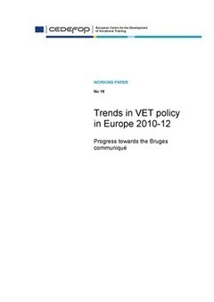 Cedefop: Trends in VET policy in Europe 2010-12 | Open Educational Resources (OER) | Scoop.it