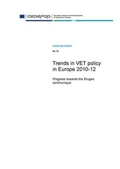 Cedefop | Publications | Trends in VET policy in Europe 2010-12 | On education | Scoop.it