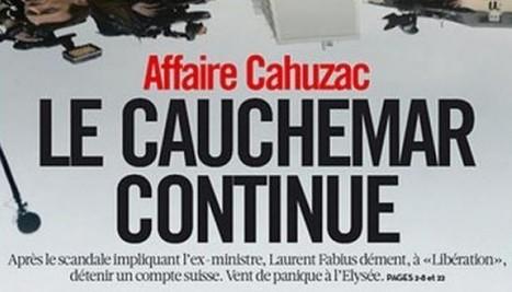 """Déontologie: """"Libération"""" fait sa une d'une rumeur sur Fabius, rumeur vivement dénoncée par François Jost   Les médias face à leur destin   Scoop.it"""