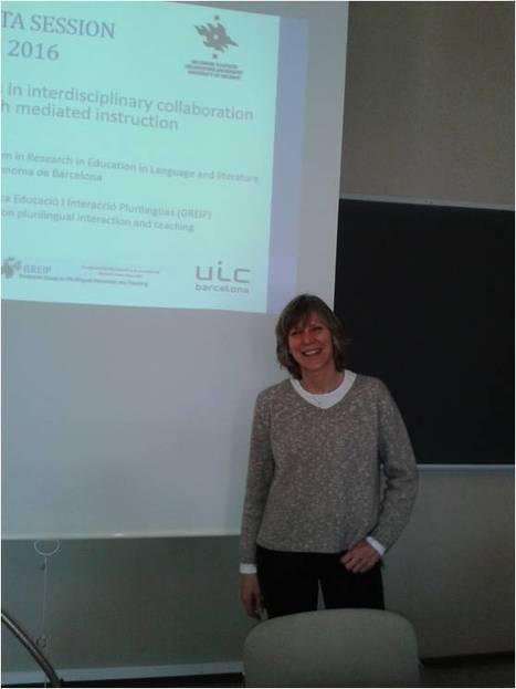 Joan Ploettner's research stay at CRADLE | GREIP Grup de Recerca en Ensenyament i Interacció Plurilingües | Scoop.it