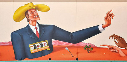 Mural Sparks Public Art Controversy - KNPR   Street art news   Scoop.it