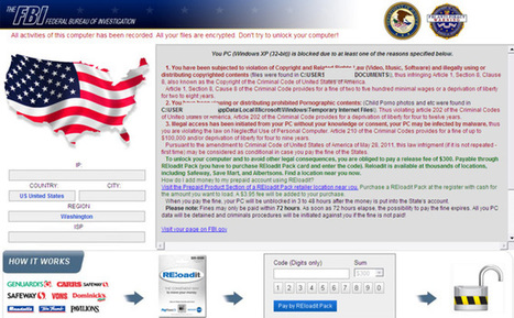 How to Remove FBI Reloadit Pack Virus Scam that Asks for $300? - Tee Support Blog | how-to-remove-metropolitan-police-total-policing-ransomware | Scoop.it