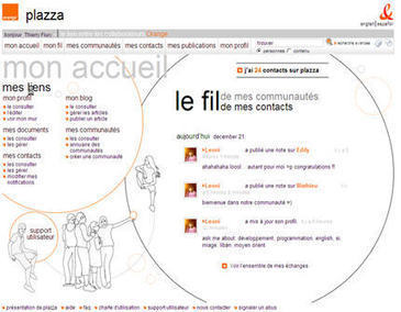 Un réseau social chez Orange pour replacer l'homme au coeur de l'entreprise | Réseaux sociaux en entreprise | Scoop.it