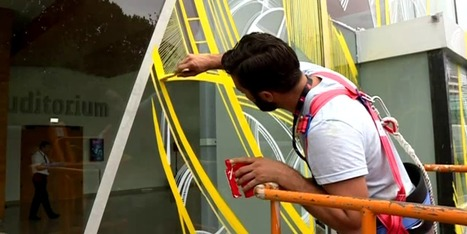Des artistes donnent des couleurs à la Maison de la Radio   politiquesculturelles-cirquecontemporain-artsdansl'espacepublic-bandedessinee-etc.   Scoop.it