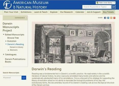 16.000 documentos del manuscrito de Darwin ya disponibles online para consulta | Educacion, ecologia y TIC | Scoop.it