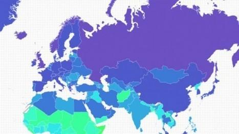 Mapa: ¿Qué países serán los primeros afectados por el cambio climático? | Correo del Orinoco | Agua | Scoop.it