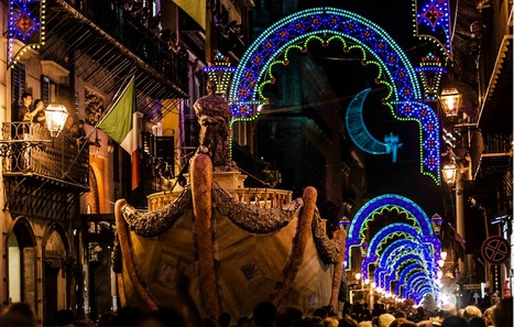 Santa Rosalia - Palermo Celebrates its Patron Saint in July with Amazing Fireworks | Experience Sicily Like a Local. | Scoop.it