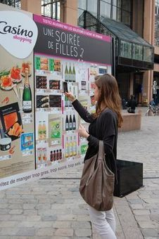 Casino dévoile son magasin virtuel à Lyon | E-commerce, M-commerce : digital revolution | Scoop.it