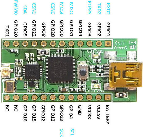 $15 and Up NavSpark is a tiny GPS / GNSS Arduino Software Compatible Board (Crowdfunding) | Ciencia Aplicada | Scoop.it