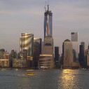 World Trade Center, from across the Hudson.  Fab! - via @Chloebeetle | globalisation in business | Scoop.it