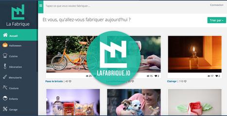 La Fabrique | 1er site de DIY collaboratif | Ca m'interpelle... | Scoop.it