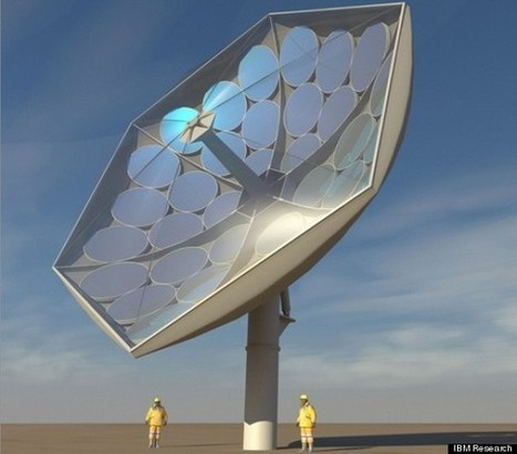 IBM Solar Collector Magnifies Sun By 2000X – These Could Provide Power To The Entire Planet | The Unbounded Spirit | Cool Future Technologies | Scoop.it