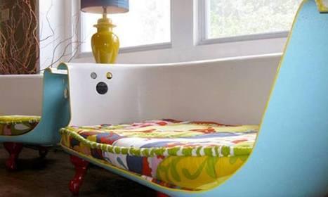 16 idées de décoration pour transformer vos vieilleries en de ... - Daily Geek Show   Design   Scoop.it