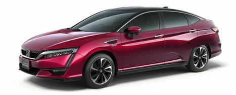 Honda just unveiled its new hydrogen-powered car | Cool Future Technologies | Scoop.it