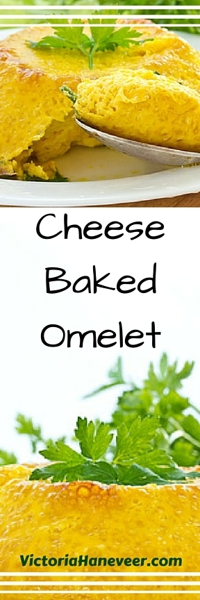 Cheese Baked Omelet | Best Easy Recipes | Scoop.it