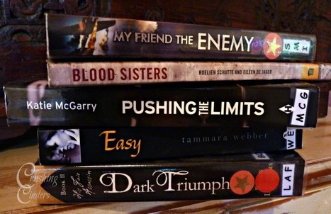 Book Spine Poetry: Blood sisters | Crushingcinders | What's up 4 school librarians | Scoop.it