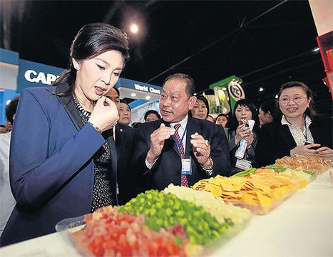 Thailand: Yingluck upbeat on food industry export prospects   BizGlobal Oregon   Scoop.it