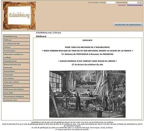 Eclatsdebois : les métiers du bois à Paris et dans la région parisienne - Archéologie familiale - L'histoire de nos ancêtres à travers les objets de famille   GenealoNet   Scoop.it