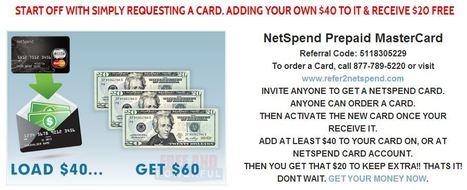 mynetspendcard | Social Money | Scoop.it