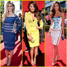 Marisa Miller & Chrissy Teigen – ESPYs 2013 Red Carpet - Just Jared | From the red carpet! | Scoop.it