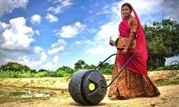 WaterWheel to ease burden on women | Mark Tran | Mrs. Watson's Class | Scoop.it