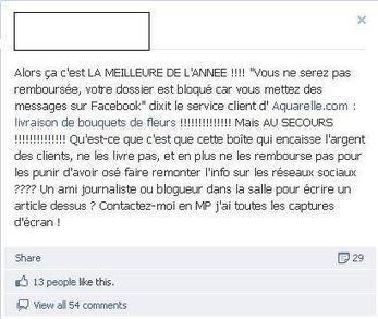 Le bad buzz du mois d'Août : un site e-commerce* | Social Media Curation par Mon Habitat Web | Scoop.it
