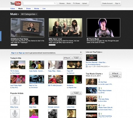 » YouTube's got a great new look, and you can try it NOW » TNW Google | Technology and Gadgets | Scoop.it