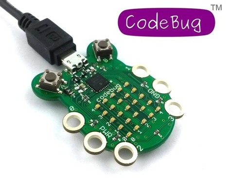 CodeBug Wearable Development Board Launches | Raspberry Pi | Scoop.it
