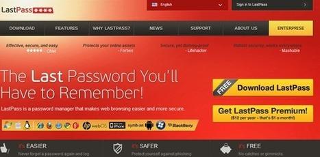 Tech Improvement: Last Pass Password Manager | LastPass | Scoop.it