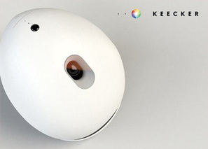 [CES] Keecker, le robot multimédia pour votre maison | Connected-Objects.fr | Electronique et Robotique | Scoop.it
