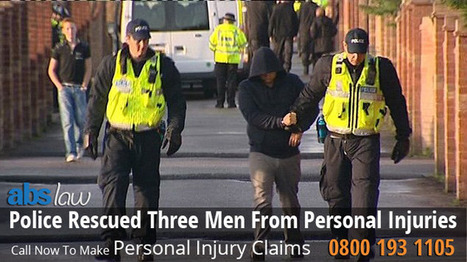 Police Rescued Three Men From Personal Injuries | My Website / Blog | Traffic Accident Claim UK | Scoop.it