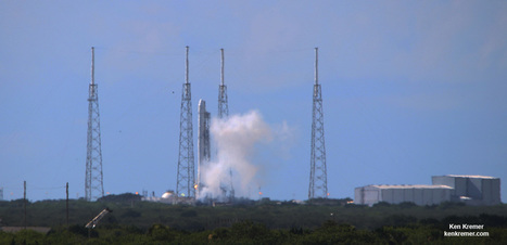 SpaceX Midnight Launch Carrying Crucial Docking Port and Science to ISS Set for July 18, Plus Loud Land Landing - Watch Live - Universe Today   New Space   Scoop.it