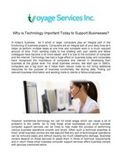 Small Business Computer Support Services - Voyage Services | Help Desk Support in Philadelphia | Scoop.it