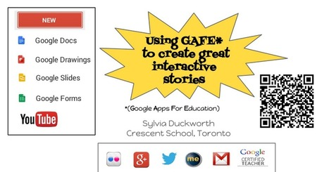 Using Google Apps for Education to create great Interactive stories | Tecnologias educativas (para aprender... para formar) | Scoop.it