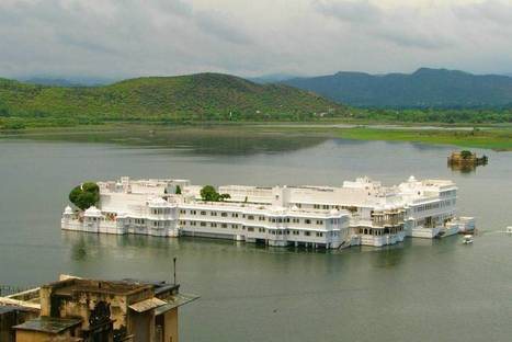 The floating Palace in Udaipur   Travels   Scoop.it