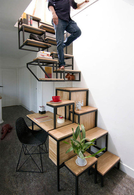 20 Cool Examples of Space Saving Furniture | Inspirationfeed | tecnologia s sustentabilidade | Scoop.it