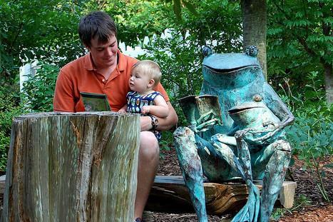 Reading in the Childrens Garden at the Atlanta Botanical Garden | Flickr: partage de photos! | Garden Libraries | Scoop.it