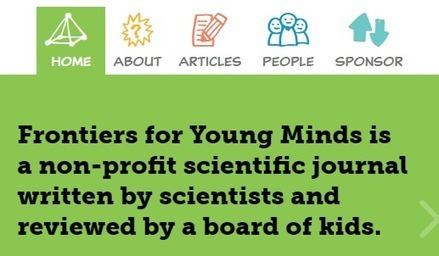 Une revue scientifique écrite pour les enfants, et reviewée par des enfants : Frontiers for Young Minds | Édition électronique | Scoop.it