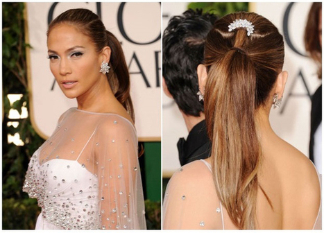 Jennifer Lopez Ponytail Hairstyles for Summer 2013 | The scoop on hairstyles. | Scoop.it