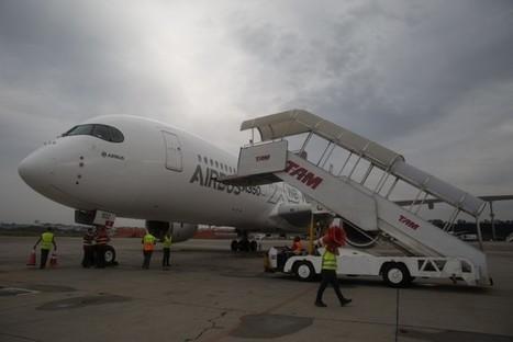 L'Airbus A350 XWB actuellement en tournée aux Amériques | Veille de l'industrie aéronautique et spatiale - Salon du Bourget | Scoop.it