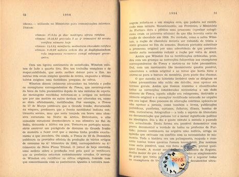 Memórias da Ficção Científica: 1984 (1948) - George Orwell (Editora Ulisseia, Limitada, Lisboa 1955) | Paraliteraturas + Pessoa, Borges e Lovecraft | Scoop.it
