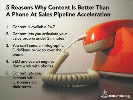 How Content Accelerate Sales Pipelines | Demand Generation Through Content Marketing | Scoop.it