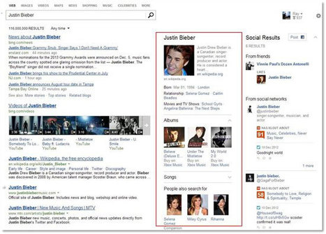 Bing boosts snapshot search with richer info on famous faces and places | Internet Search | Scoop.it