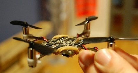 DIY: make a circuit board fly with this cute, tiny quadcopter kit | The Jazz of Innovation | Scoop.it