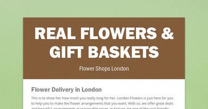Real Flowers & Gift Baskets | Real Flowers & Gift Baskets | Scoop.it