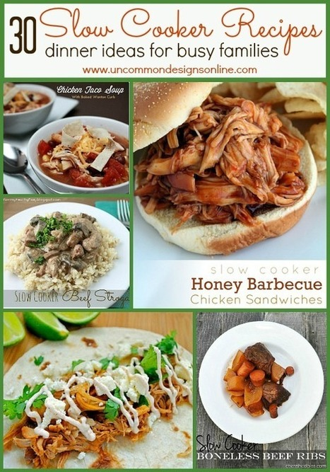 30 slow cooker recipes dinner ideas for busy families family