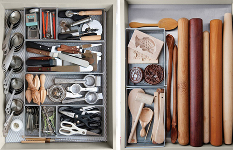 Daily Dose of Pretty | 37 | Martha's Kitchen Drawers | All Sorts of Pretty | Best Home Organizing Tips | Scoop.it
