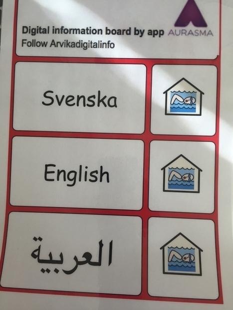 Digitala informationstavlor för nyanlända   Pedagog Värmland   Digital kompetens   Scoop.it