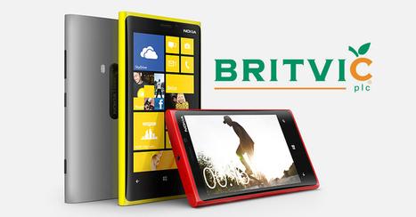 'Britvic' opts for Nokia Windows Phone, deters Blackberry | Technology | Scoop.it